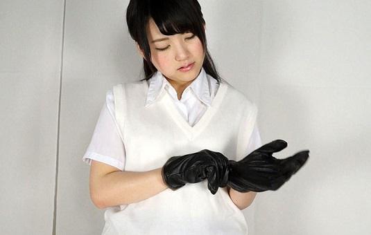 ねぇ、くびしめにきたよ 木村つなが黒革手袋窒息責め!