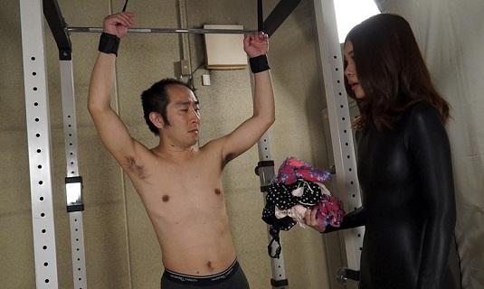 水瀬姫香(七海りこ)くすぐりイカせ拷問、手コキ強制発射ドピュー