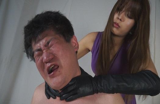 早坂メロ(羽生真愛)あぶない首絞めマニアの女