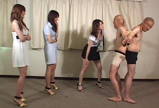 清楚な女子大生3人の逆レイプアマゾネス 茅ヶ崎ありす