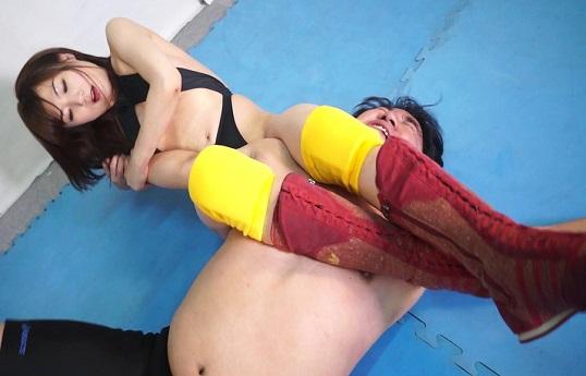 加納綾子の格闘痴女サキュバス Game08